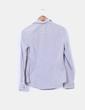Camisa a rayas gris y blanca H&M