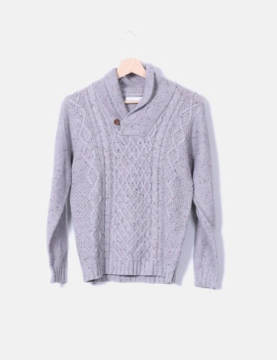 Jersey tricot gris Lefties