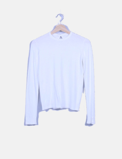 Jersey tricot blanco