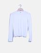 Jersey tricot blanco Mango