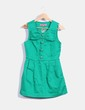 Pichi denim verde Manoush