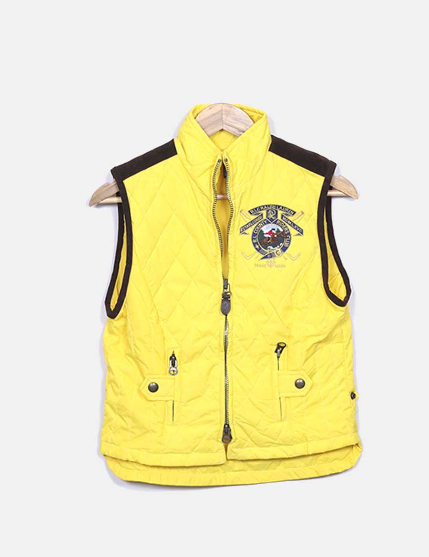 marrón Chaleco y Lauren baratos de Mujer acolchado Abrigos Chaquetas online  Ralph y amarillo ErqptAwr ... 9f4d805b164c