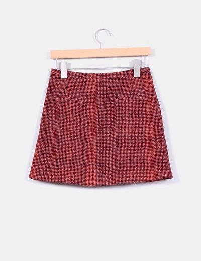 c484d9c9d Falda lunares rojos
