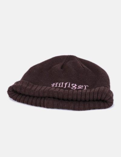 Gorro tricot marrón Tommy Hilfiger