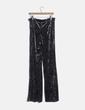 Pantalón terciopelo gris Zara
