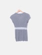 Camiseta gris combinada velvet Custo
