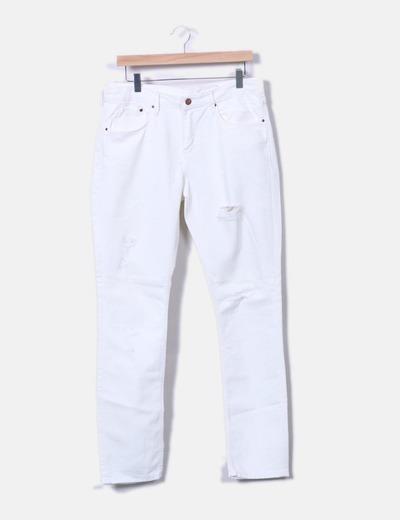 H M Weiße Jeans zerrissen (Rabatt 81 %) - Micolet bdfea89db1