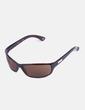 Gafas de sol con montura marrón Tommy Hilfiger