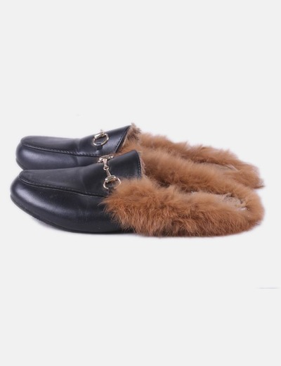 Mule black with fur NoName