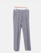 Pantalón chino de paño gris jaspeado Adolfo Dominguez