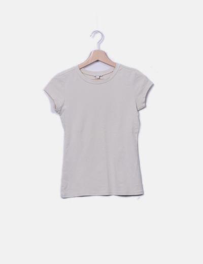 Camiseta beige licra