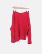 Jersey de punto rojo oversize NoName