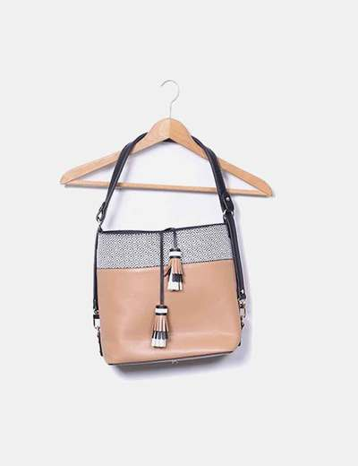Ethnic band camel bag NoName