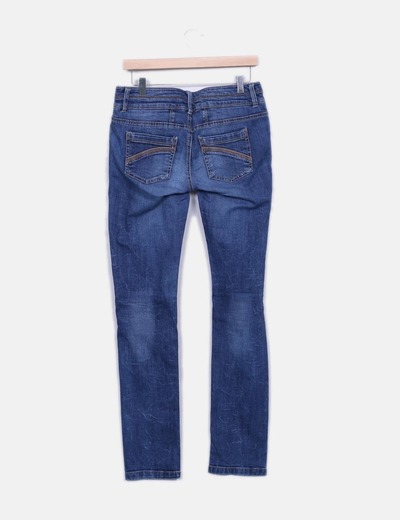 Jeans denim oscuro