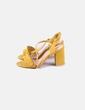 Sandalias amarillas Belles