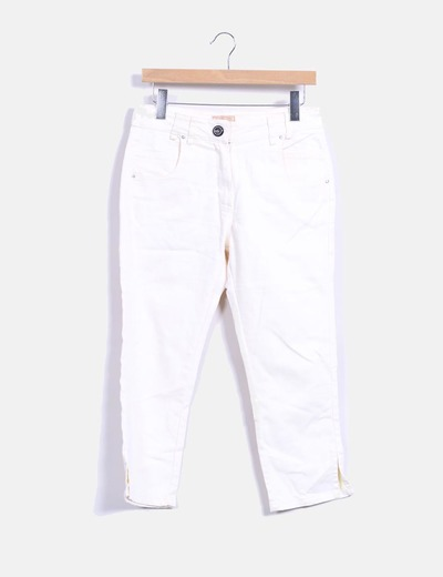 Pantalón nude denim pirata Southern Cotton
