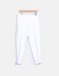 Pantalon blanc droit Simona Barbieri