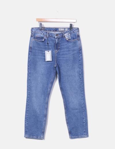 Jeans droit taille haute Vero Moda