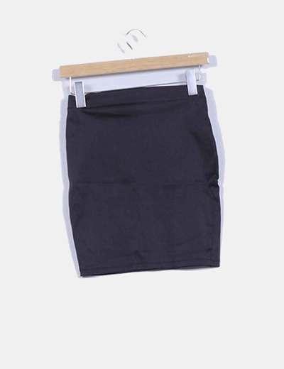 Falda mini negra