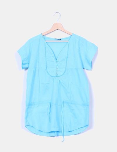 Camisa turquesa Elogy