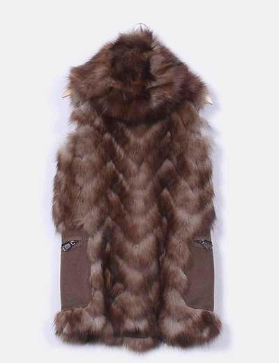 Chalecos cortos de pelo