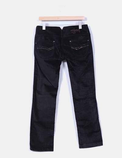 Pantalon negro micropana