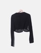 Jersey tricot combinado abotonado Adolfo Dominguez