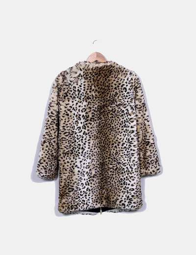 Print 74 Abrigo Animal De Micolet Pelo descuento Zara Sq4wI