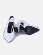 Zapatos blancos destalonados Uterqüe