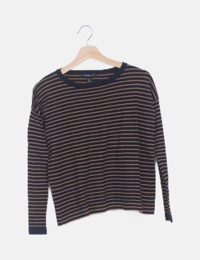 Jersey tricot rayas