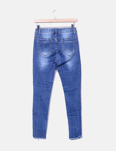 nuevo autentico ventas especiales buscar auténtico Jean denim roto rodillas