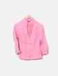 Camisa rosa cuello pico Adolfo Dominguez