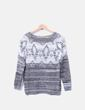 Jersey tricot con rombos NoName