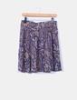 Falda midi floral H&M