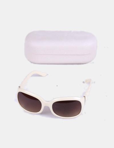 896ea43e8b980 Mango Gafas de sol blancas (descuento 75%) - Micolet