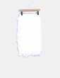 Falda midi blanca con flecos Lavish Alice