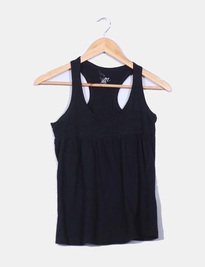 Camiseta Básica Tirantes Tirantes Negra Camiseta Básica Negra Camiseta Básica 8Pw0OXnk