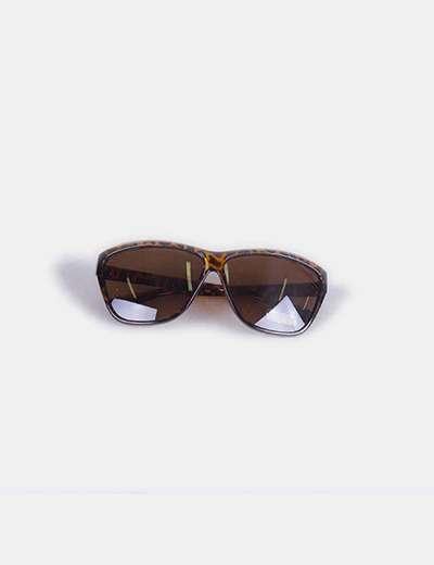 Gafas de sol animal print marrones Devota & Lomba