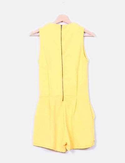 Mono texturizado amarillo