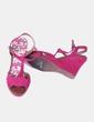 Sandalia de cuña rosa fucsia  Atmosphere