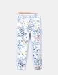 Pantalón  estampado floral Zara