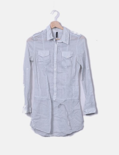 Camisa larga rayas