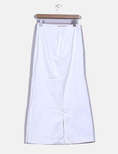Maxi falda blanca