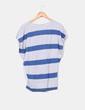 Jersey punto fino rayas gris y azul Pull&Bear