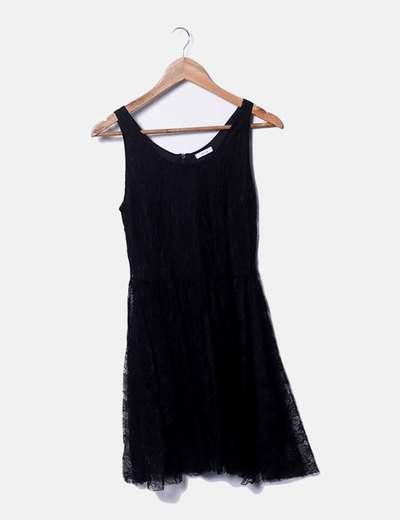 Lace black dress Kling
