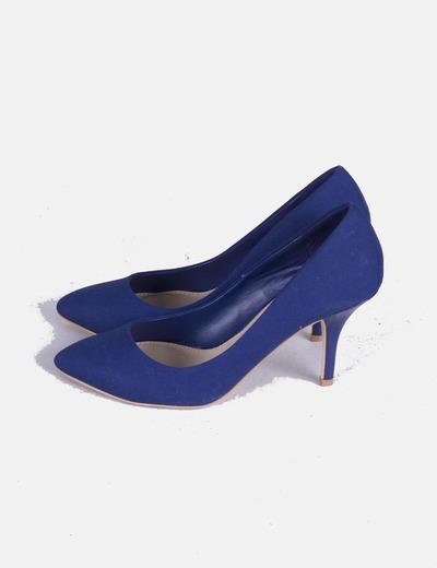 bastante agradable 76544 b5983 Zapato de salón azul marino
