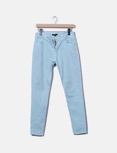 Pantalón denim azul claro Tintoretto