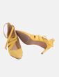Stiletto amarillo tiras PATRICIA HENRIQUES