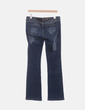 Jeans denim recto con tachas Just Cavalli