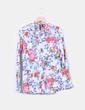 Blusa con estampado floral Mango